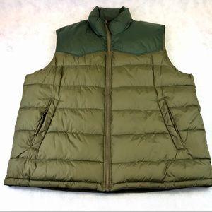 Mens GAP Puffer Vest Jacket Size XL NWOT